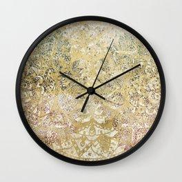 A Grand Holiday Celebration Wall Clock