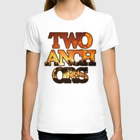 anchors T-shirts featuring Sunset Anchors by Two Anchors