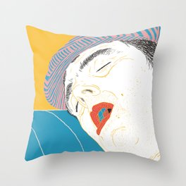 La Mamma Throw Pillow
