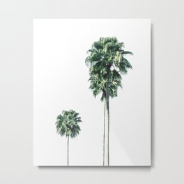 Simply Summer Palms Metal Print