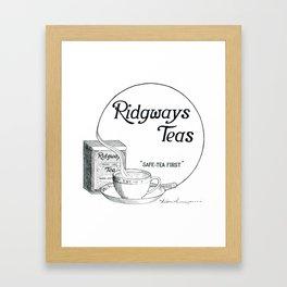 Ridgway Teas Framed Art Print