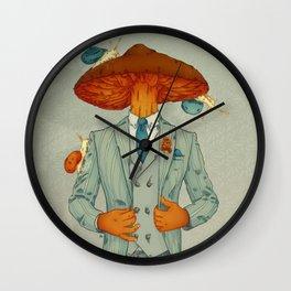 FALL IS BACK Wall Clock