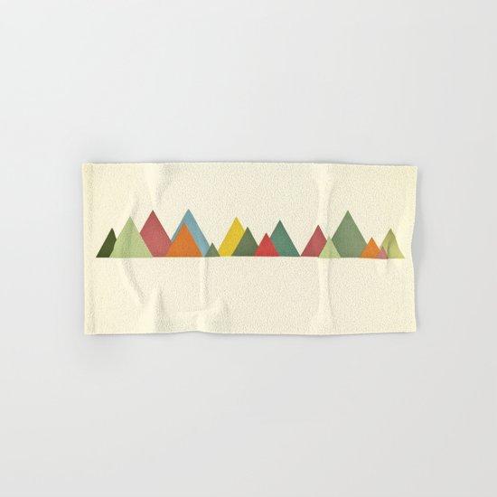 Mountain range Hand & Bath Towel