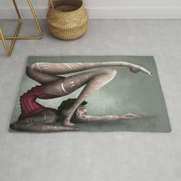 Contortions  Rug