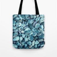 stone Tote Bags featuring stone by Claudia Drossert