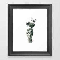 3some Framed Art Print