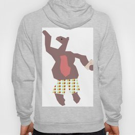 Dancing Mr. Bear Hoody