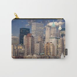 Downtown NYC at twilight Carry-All Pouch
