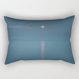 Sailing to the moon - Landscape and Nature Photography Rectangular Pillow