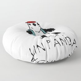 Sinon, un panda (3) Floor Pillow