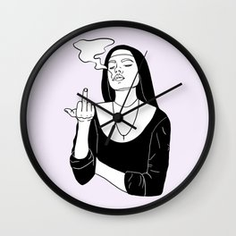 Nun of Your Business Wall Clock