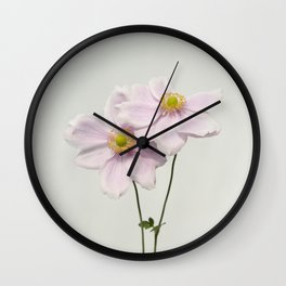 Anemone duo Wall Clock