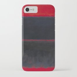 1957 Light Red Over Black by Mark Rothko HD iPhone Case