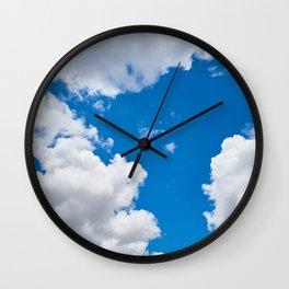 Clouds 3 Wall Clock