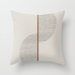 Geometric Composition II Throw Pillow