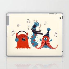Three Monsters Singing Laptop & iPad Skin