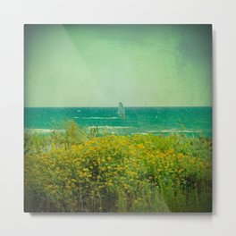 Gavà Beach Barcelona - Spain Metal Print