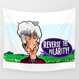 Reverse the Polarity Wall Tapestry