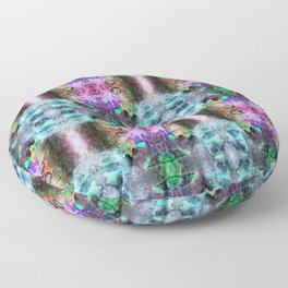 Neurotransmitted Daydreams (Pattern 2) Floor Pillow