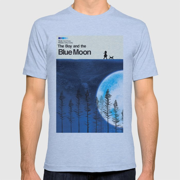 The Boy and the Blue Moon T-shirt
