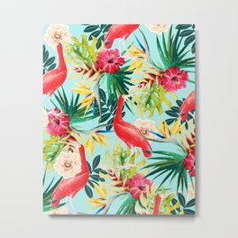 Hawaiian Vibe #society6 #decor #buyart Metal Print