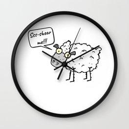 Shear Me Wall Clock