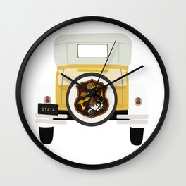 Ramblin Wreck Wall Clock