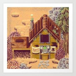 Stardew Valley - Hat Seller Art Print