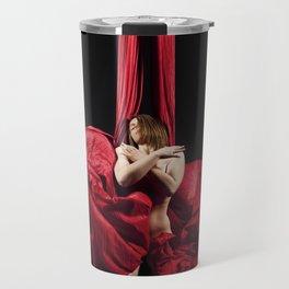 Flowing 1 - Silks Series 1 Travel Mug