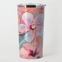 Hale Aloha Hibiscus Travel Mug