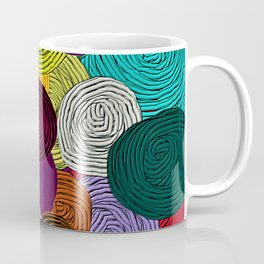 Colorful Circle Art Coffee Mug