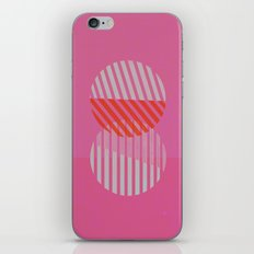 Two Circles iPhone & iPod Skin