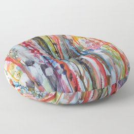 petit jardin 1 Floor Pillow