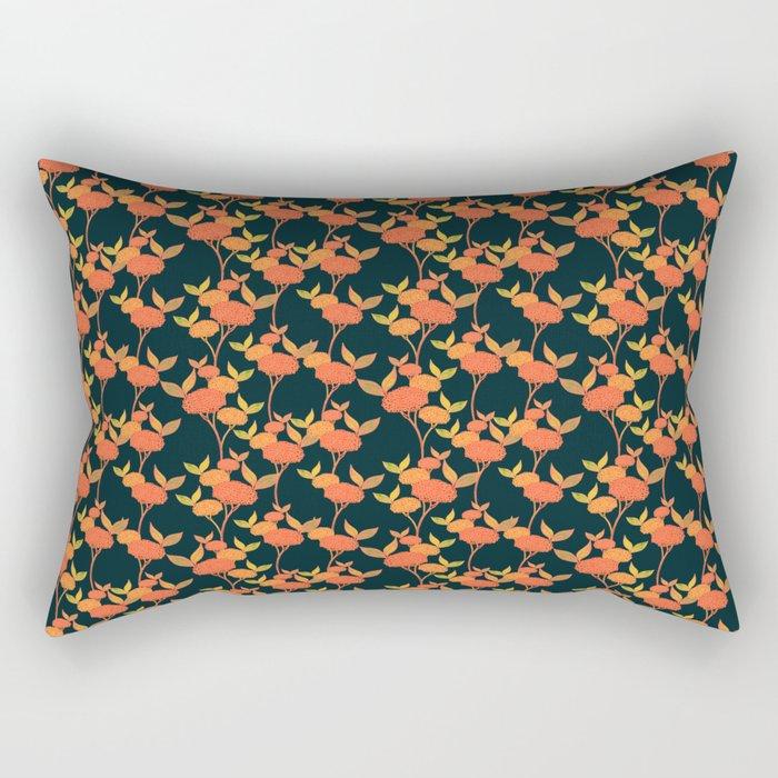 Orange autumn berries. Rectangular Pillow