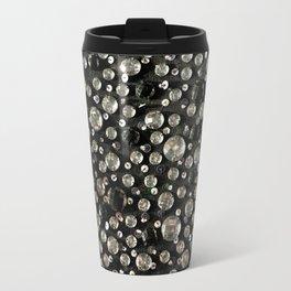 Glass Beads & Sequins Travel Mug