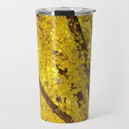 Yellow Drip Travel Mug