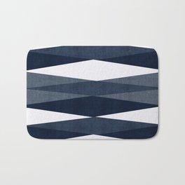Harar in Navy Blue Bath Mat