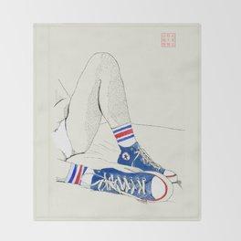Tube Socks Throw Blanket