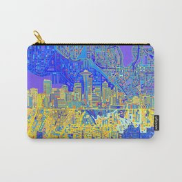 seattle city skyline Carry-All Pouch