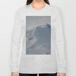 Mt Hood - Early Winter Long Sleeve T-shirt