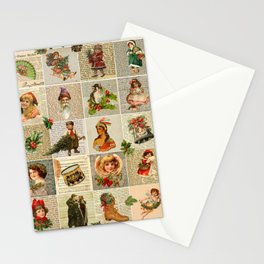 Vintage Christmas Stationery Cards