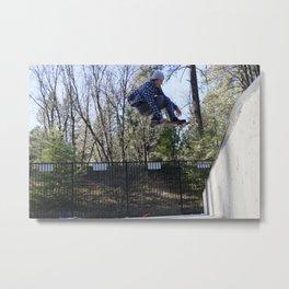 Catching Air Metal Print