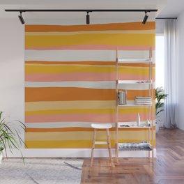 sedona, desert stripes Wall Mural