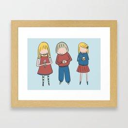 TREATS Framed Art Print