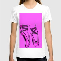 ballerina T-shirts featuring Ballerina by Art Corner