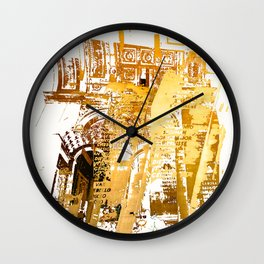 Napoleonic Wars  Wall Clock