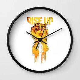 rise up Pacific Rim Uprising 2018 Wall Clock