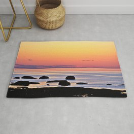 Yellow Skies of Summer Rug