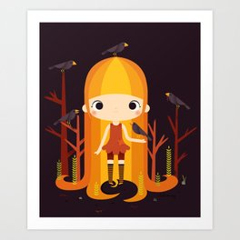 The Scarecrow Art Print