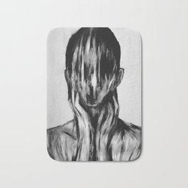 Surreal Distorted Portrait 03 Bath Mat
